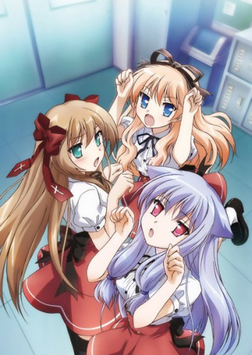 Girl Tied Up Wallpaper Mayoi Neko Overrun Anime Planet