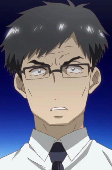 anime male hair