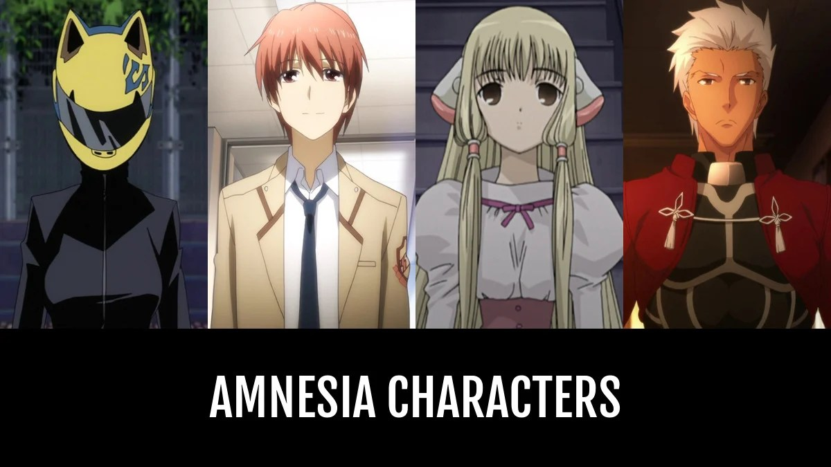 Best Amnesia Characters Anime Planet
