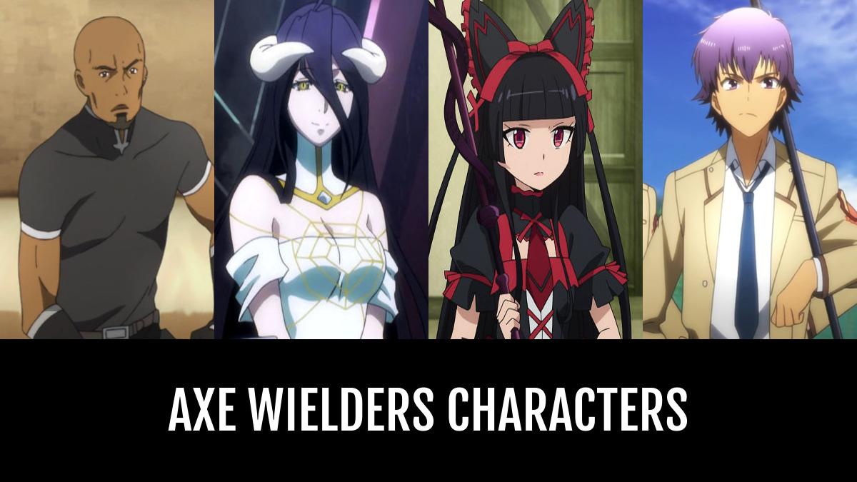 Best Axe Wielders Characters Anime Planet