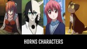 horns characters anime-planet