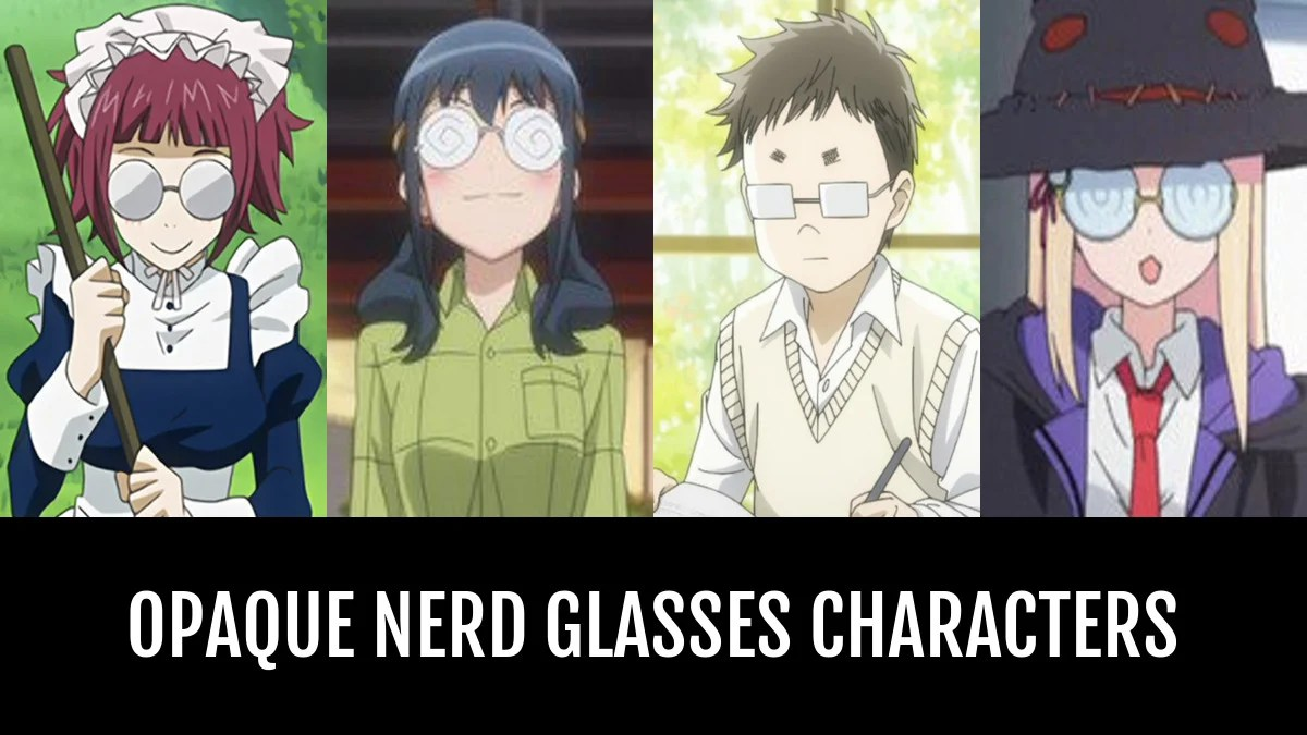 Goggles Girl Wallpaper Best Opaque Nerd Glasses Characters Anime Planet
