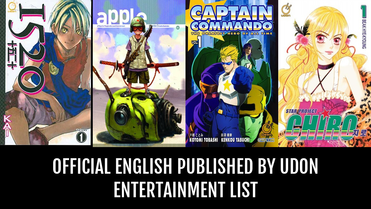Official English Published By Udon Entertainment - by Grizz   Anime-Planet
