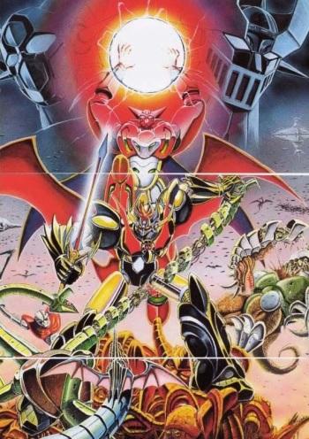 Mazinkaiser Vs Shin Getter Robot Manga Anime Planet