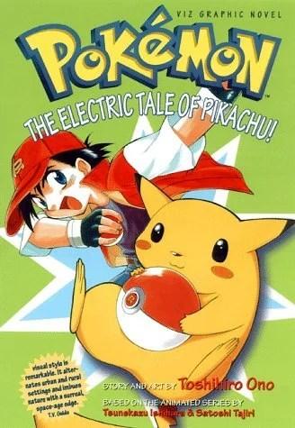 Pokemon The Electric Tale Of Pikachu Manga Anime Planet