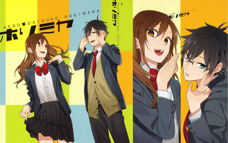 Horimiya manga review