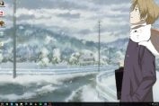 anime kerst wallpapers