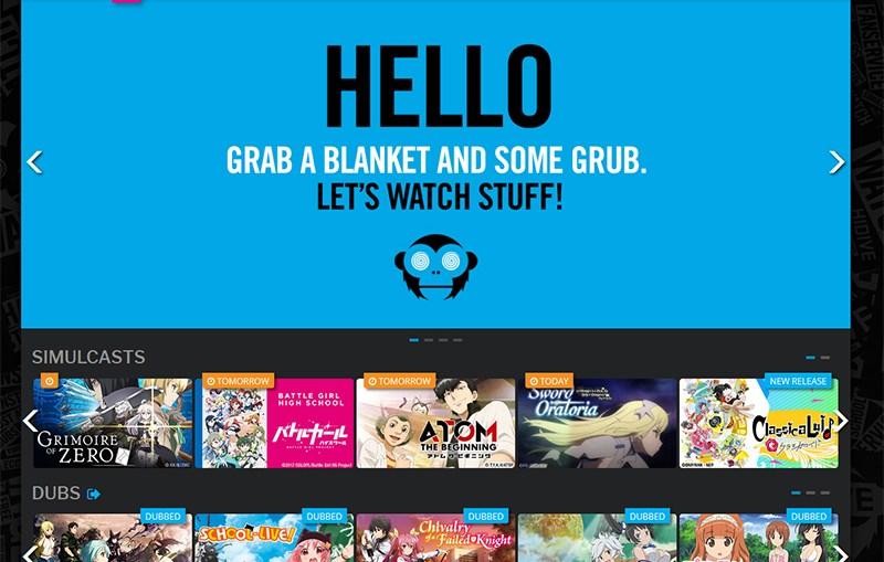 HIDIVE anime streamingdienst