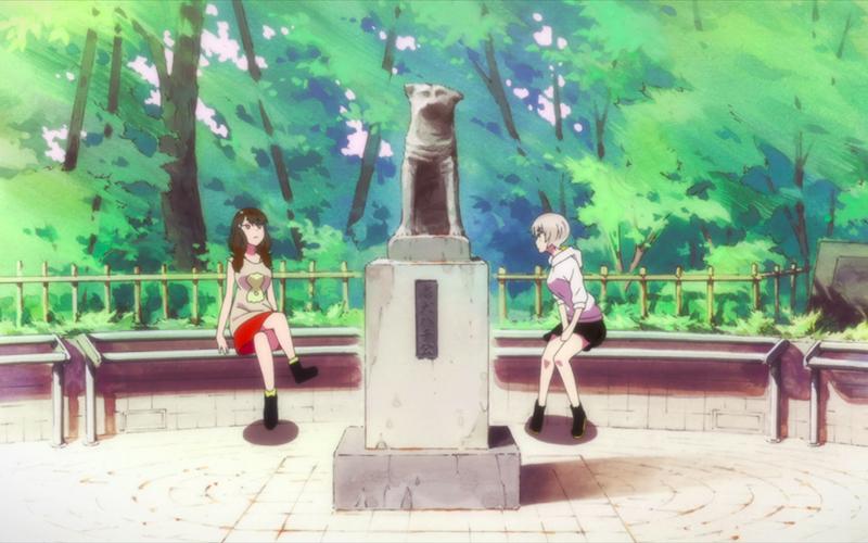 Hachiko en andere honden in de hoofdrol van anime