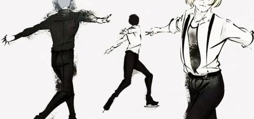 wintersport anime en manga, Yuri On Ice