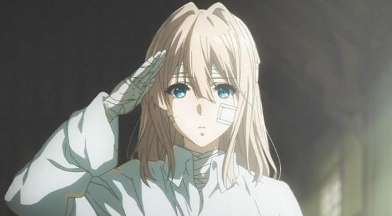 Violet Evergarden anime review Netflix