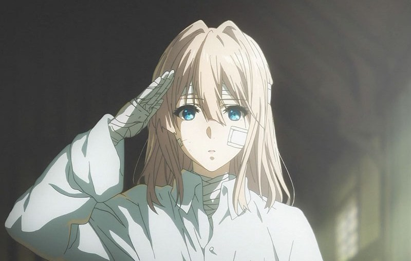Violet Evergarden anime review Netflix