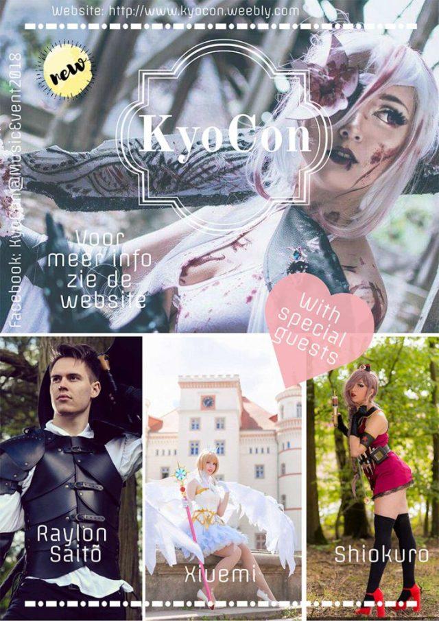 KyoCon cosplay conventie met competities en muziek.