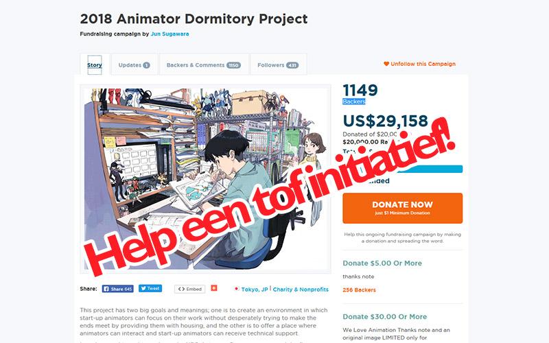 Dit verdient een Japanse animator!