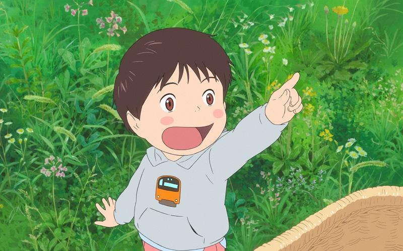 Mirai anime film van Mamoru Hosoda in de bioscoop