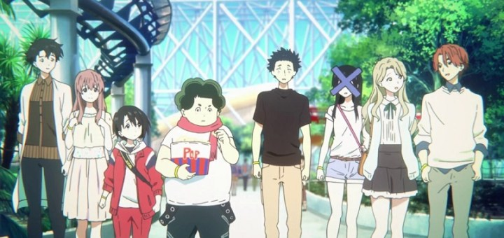 A Silent Voice is één van de anime gemaakt door Kyoto Animation