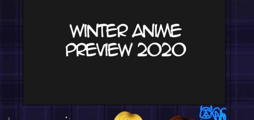 vooruitblik op de anime van winter 2020