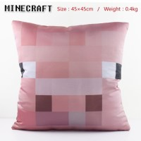 Minecraft-Pig two-sided pillow 45x45CM_Minecraft_Anime ...