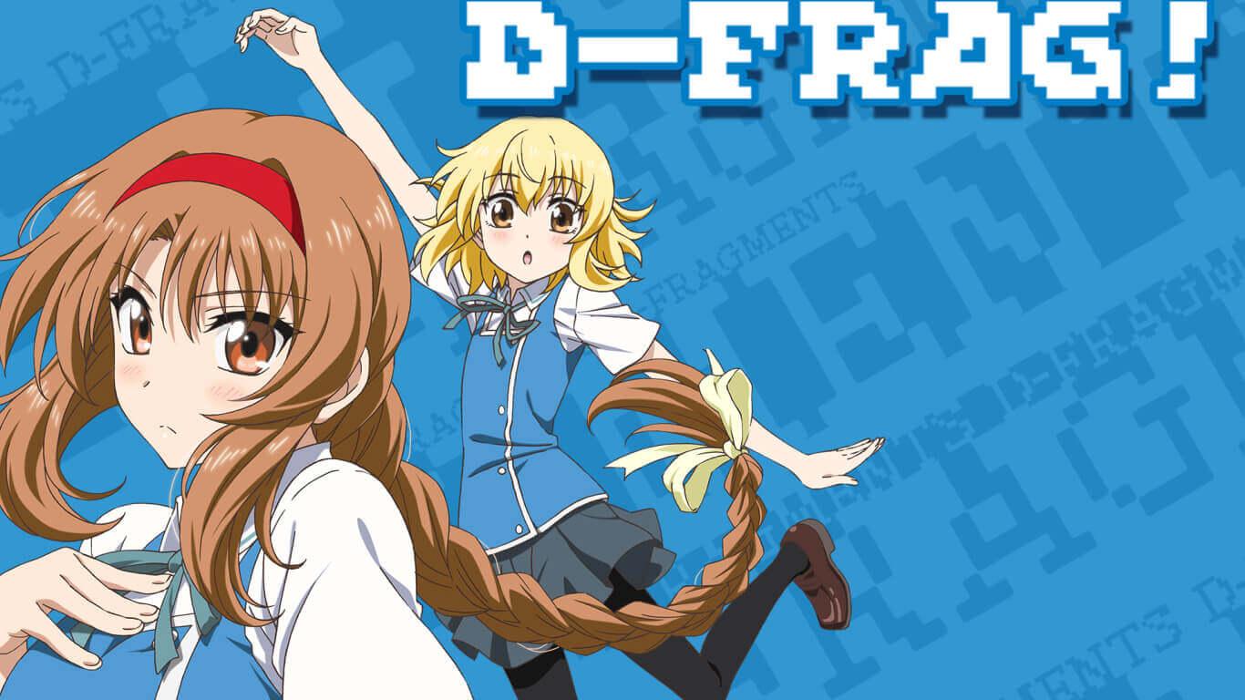 D-Frag! BD (Episode 01 — 12) Sub Indo + OVA