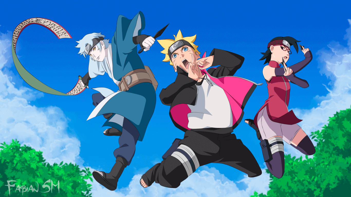 Boruto: Naruto Next Generations Episode 195 Subtitle Indonesia