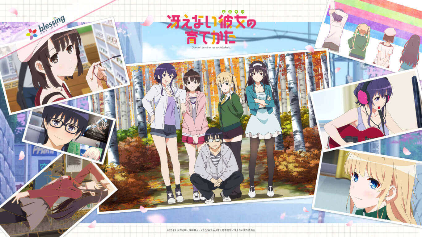 Saekano Season 2 Batch BD Subtitle Indonesia