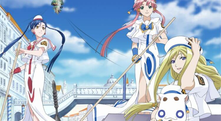 Aria The Animation BD (Episode 01 – 13) Subtitle Indonesia