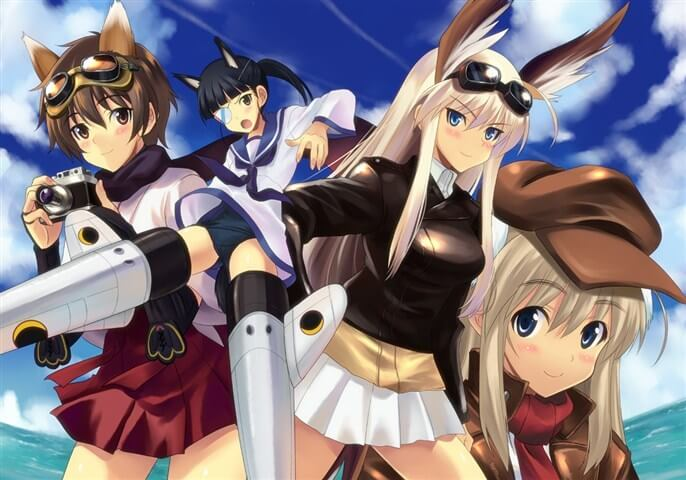 Strike Witches S2 BD Subtitle Indonesia Batch