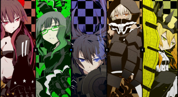 Black Rock Shooter Batch BD (Episode 01 – 08) Sub Indo