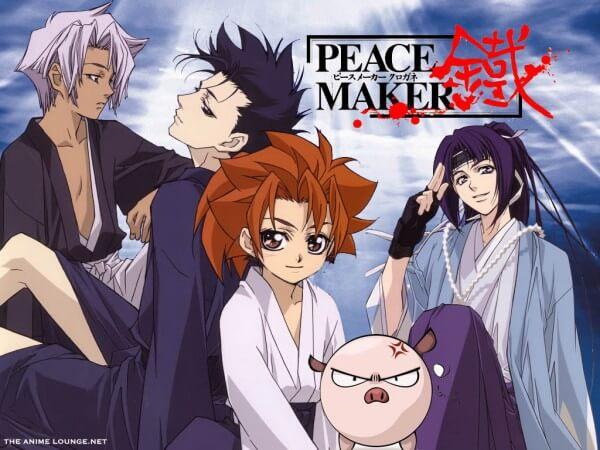 Peace Maker Kurogane Movie 1: Omou Michi BD Subtitle Indonesia