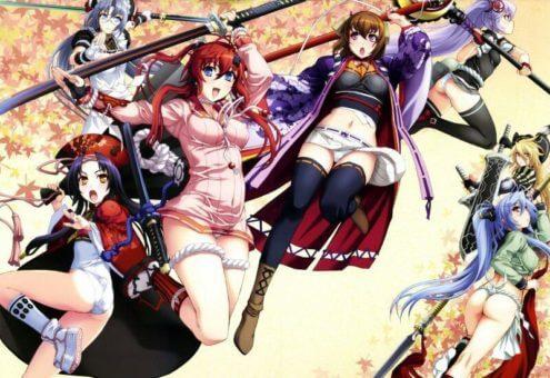 Hyakka Ryouran: Samurai Bride BD + SP Batch Subtitle Indonesia