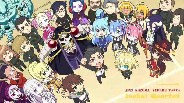 Isekai Quartet Batch Subtitle Indonesia