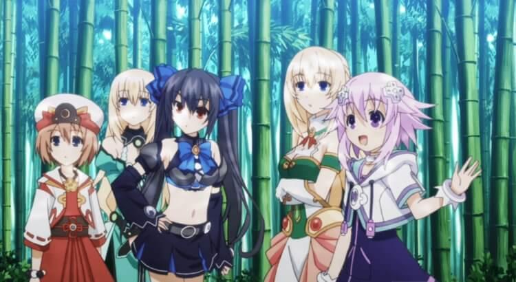 Hyperdimension Neptunia BATCH BD (Episode 1-12) Sub Indo + OVA