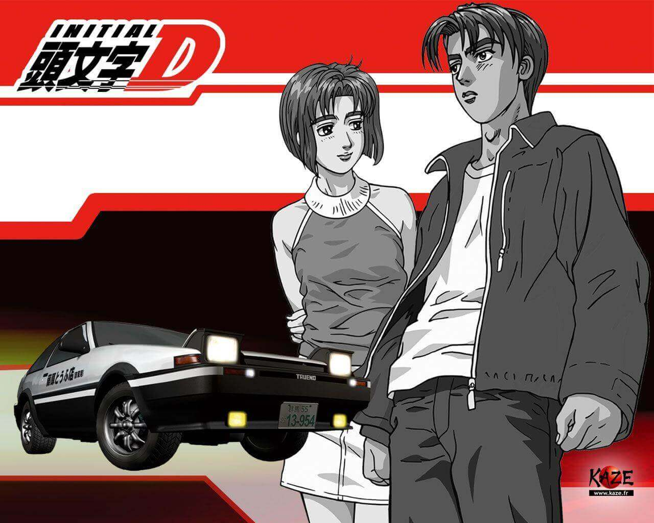 Initial D Season 1 Batch Subtitle Indonesia
