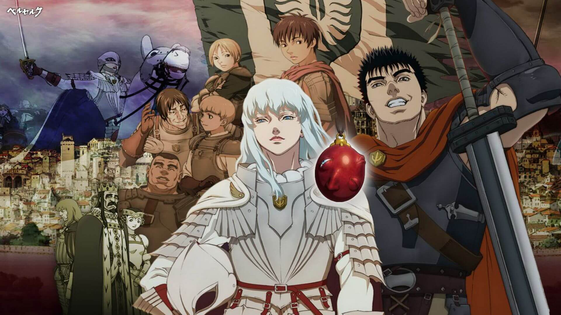 Berserk: The Golden Age Arc I – The Egg of the King Subtitle Indonesia