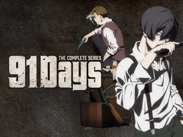 91 Days Batch Subtitle Indonesia