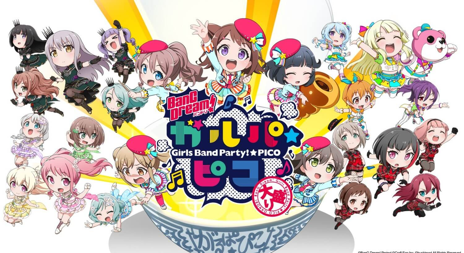 BanG Dream! Garupa-Pico: Oomori Episode 04 Subtitle Indonesia