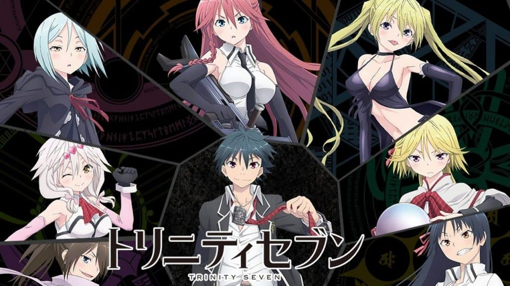Trinity Seven Movie 2: Heavens Library to Crimson Lord Sub Indo