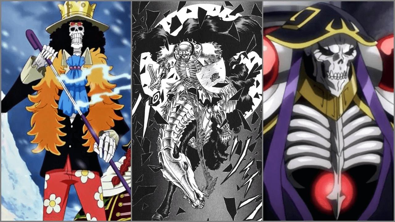 5 Karakter Skeleton Paling Populer Di Jagat Anime!