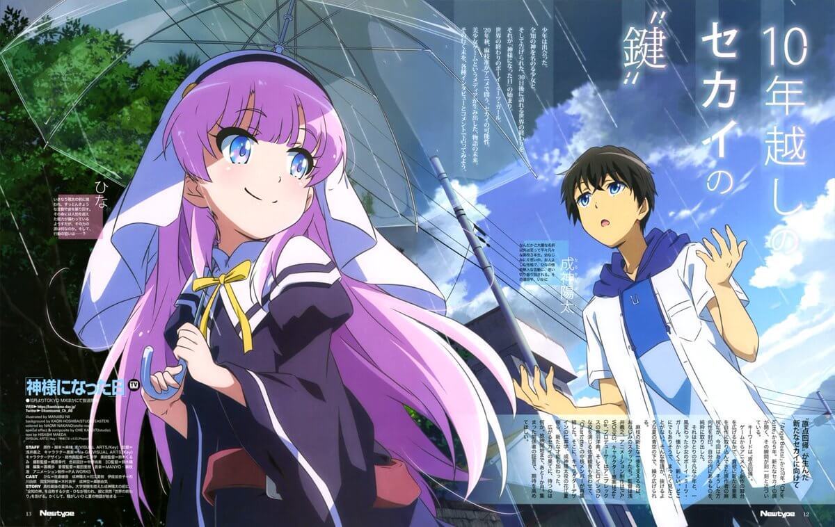 Kamisama ni Natta Hi Batch Episode 01 – 12 Sub Indo