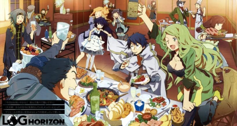 Log Horizon Season 3 Episode 08 Sub Indo