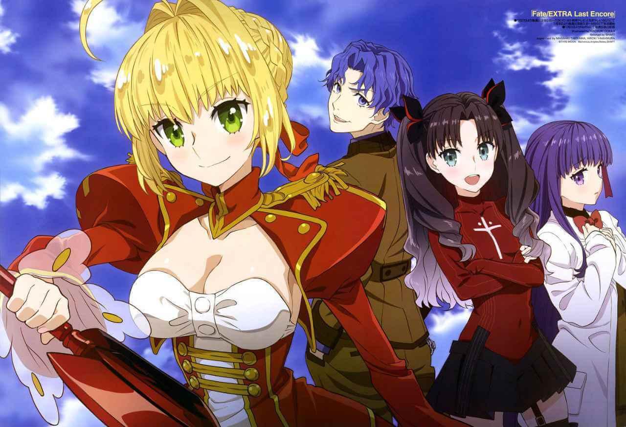 Fate/Extra: Last Encore + Spesial BD Batch Sub Indo