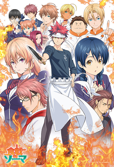 Food Wars Shokugeki no Soma Anime  AnimeClickit