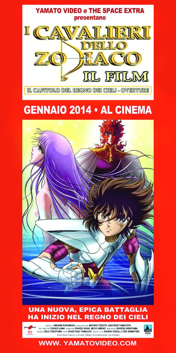 Il quinto film dei cavalieri dello zodiaco al cinema per Yamato