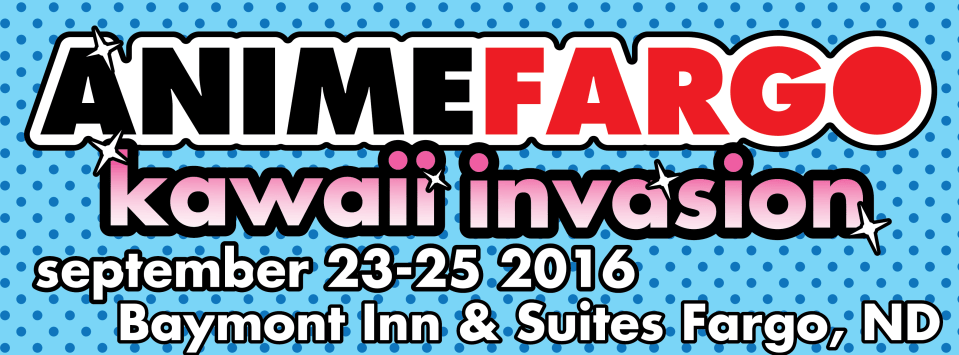 Anime Fargo 2016 Schedule