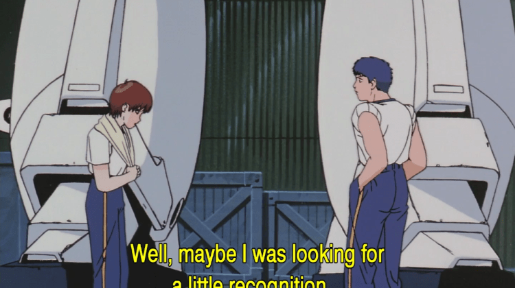 [History] Noa's Imposter Syndrome in Patlabor