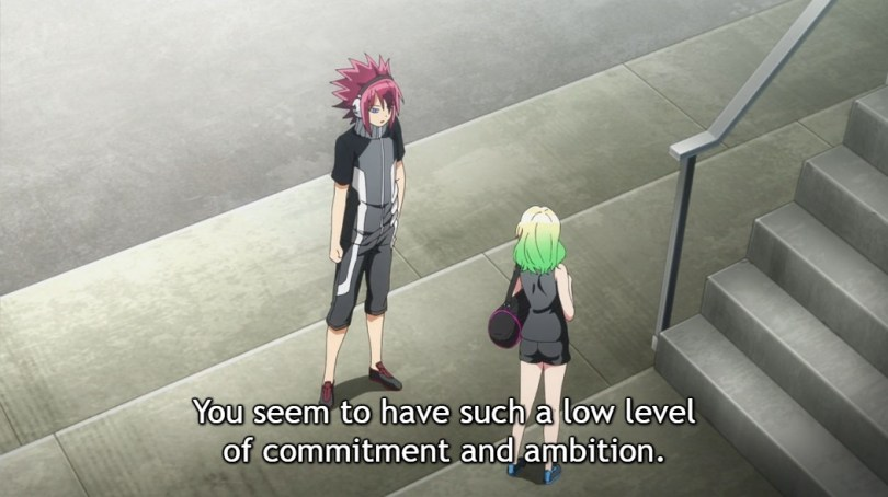 "Shimon tells Mayura ""You seem to have such a low level of commitment and ambition."""