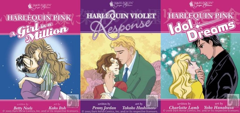Harlequin manga titles
