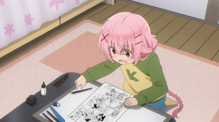 [Review] Comic Girls – Episode 1