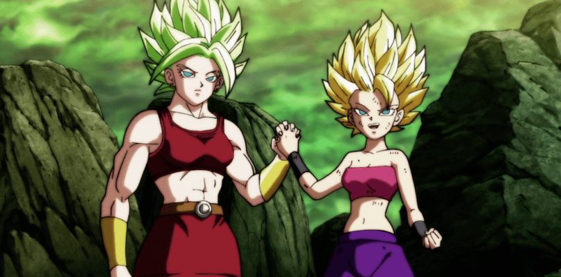 Dragon Ball Super's female super saiyans