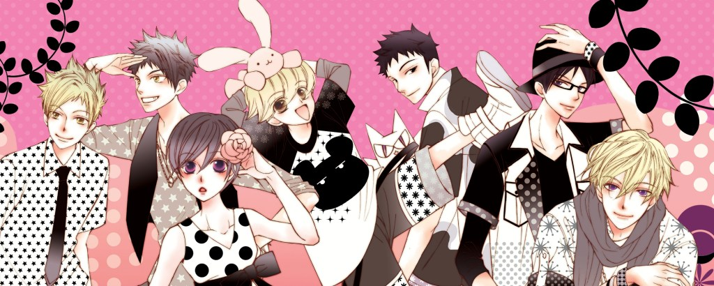 The cast of Ouran High School Host Club
